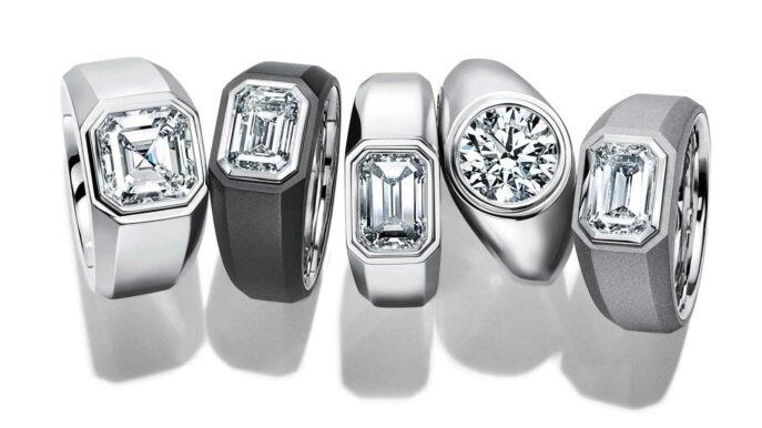 Tiffany&Co. apresenta seu primeiro anel de noivado para homens: The Charles Tiffany Setting