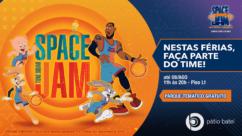 A partir de 10 de julho, Arena Space Jam será a atração destas férias no Pátio Batel